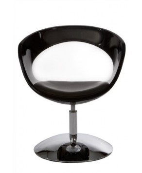 Home Deco - Chair Black/Black- (AC00350BLBL)